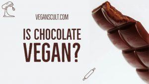 is chocolate vegan | veganscult.com