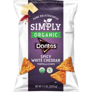 Simply Organic Spicy White Cheddar Doritos