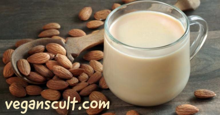 almond milk | veganscult.com