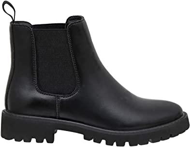 Dunes Women's Dalya Chelsea Boot +Memory Foam | veganscult.com